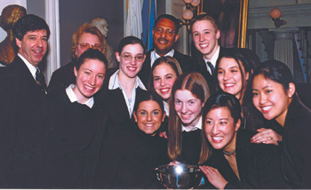Chelmsford High School's Mock Trial team
