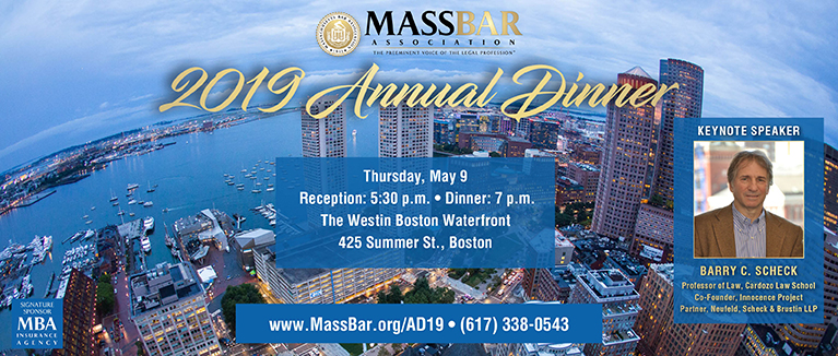 2019 MBA Annual Dinner