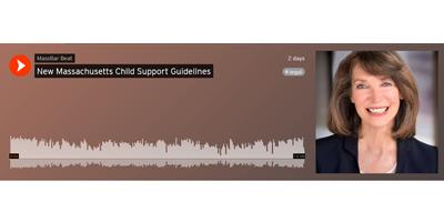 New Massachusetts Child Support Guidelines