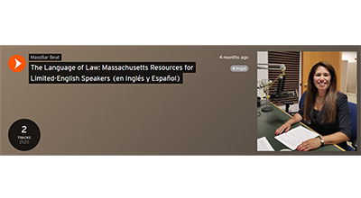 The Language of Law: Massachusetts Resources for Limited-English Speakers
