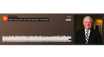 Ride Along with the New MassBar President