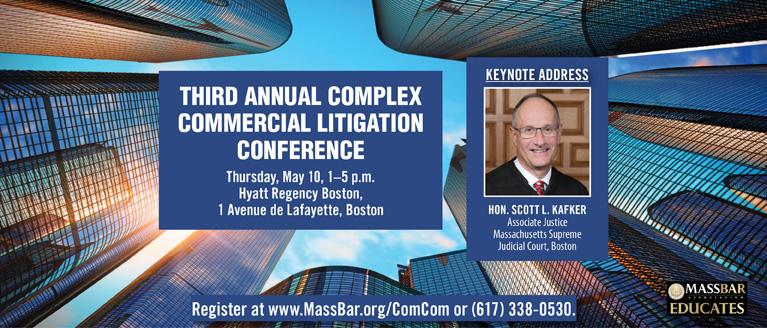 Complex Commercial Litigation Conference