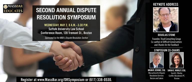 Second Annual Dispute Resolution Symposium