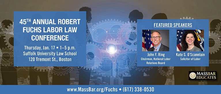 45th Annual Robert Fuchs Labor Law Conference