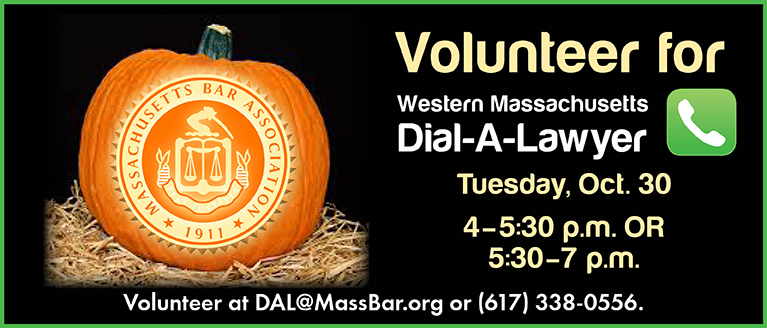Volunteer at WMass Dial-A-Lawyer