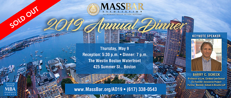 SOLD OUT: 2019 MBA Annual Dinner