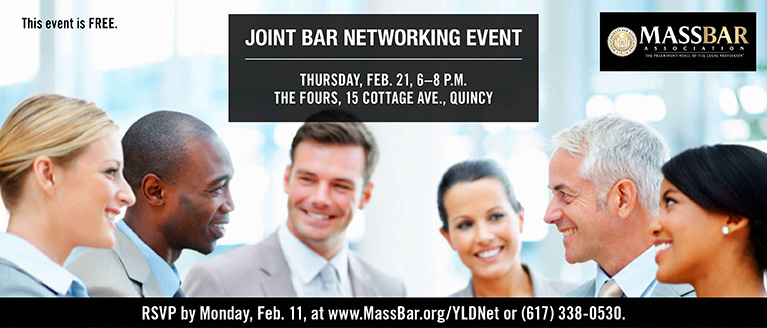Joint Bar Networking Event